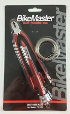 BikeMaster Motorcycle Safety Wire Tool Suzuki Drag Bike Racing MX ATV UTV
