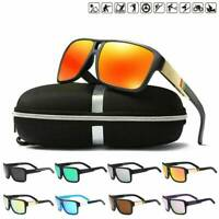 Men's Sport Polarized Driving Sunglasses Fishing Outdoor Riding Goggles