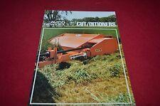 New Idea 272 279 Cutditioners Haybine Dealer's Brochure YABE10