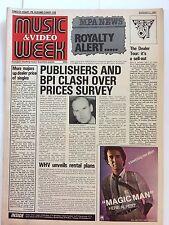 MUSIC & VIDEO  WEEK MAGAZINE  1 AUGUST 1981  ROYALTY ALERT      LS