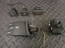 2007 FORD FOCUS 1.4 PETROL SET OF 5 SWITCHES HAZARD/VOLUME/MIRROR ADJUSTER