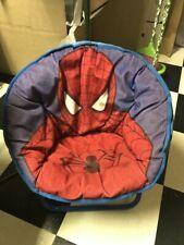 spiderman folding saucer chair chair