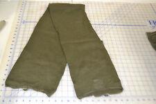 2 scarf neckwear mans wool OG 208 military USGI tube style army green good used