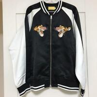 Tokyo Disney Resort Tigger Black Jacket Yokosuka Jumper SUKAJAN size L NEW