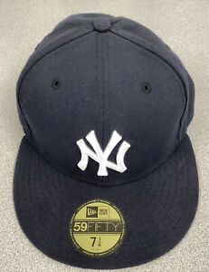 New York Yankees Baseball Hat New Era 59Fifty Fitted 7 1/4 Unworn New With Tags