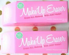Lot of 2 THE ORIGINAL MAKE UP ERASER Removal Cloth Mini Lot Of 2 New in Box