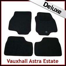 VAUXHALL ASTRA G Estate 1998-2004 Tailored LUXURY 1300g Carpet Mats BLACK