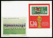 DEUTSCHLAND FUßBALL-WM 1974 BULGARIEN BULGARIA FOOTBALL-TEAM SOCCER ca50