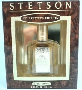 Vintage STETSON AFTER SHAVE 2.25 FL OZ. New in box!
