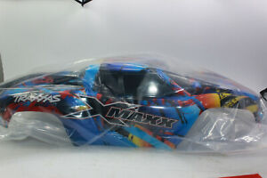 Traxxas 7711T Rock N` Roll Lacquered Body For x-Maxx + Sticker New+Boxed
