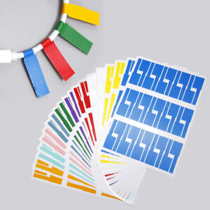 600Pcs Self-Adhesive Cable Labels Waterproof Wire Tear Resistant Marker Tag
