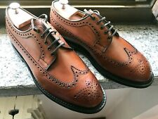 NEW💥Church's Swing💥Derby Brogue Burnished Brown UK 10 Mens Shoes