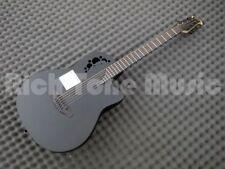 Ovation DS778TX-5 Black - D-Scale Guitar - Mid Bowl Acoustic Guitar