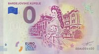 BILLET 0  EURO BARDEJOVSKE KUPELE SLOVAQUIE 2019   NUMERO 4400