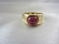Moderner massiver Ring aus Gold 585 mit Turmalin Caren Pfleger