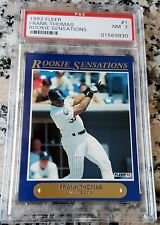FRANK THOMAS 1992 Fleer Rookie Sensations RC SP PSA 7 Low Serial # HOF White Sox
