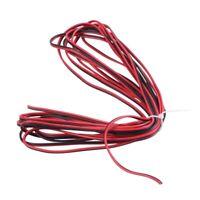 1X(5M 22Awg Cavo Elettrico Dual Core Nero Rosso Nero Per Altoparlante Per A Z4Y8
