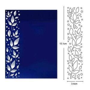 Leaf Metal Cutting Dies Stencil Scrapbooking DIY Album Stamp Paper Card Emboss L