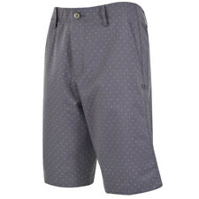 UNDER ARMOUR GOLF MEN'S MATCH PLAY NOVELTY SHORTS SIZE:W34 RHINO GRAY DOTS 18997