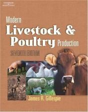 Modern Livestock and Poultry Production by James R. Gillespie (2003, Hardcover,