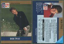 1990 Pro Set PGA Tour - Promo - Bob Tway - Variation du logo plus petit (b)