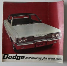 DODGE MONACO POLARA 1967 dealer brochure - French - Canada - HS2003000418