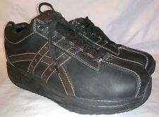 Mens 10 SKECHERS 66504 SHAPE UPS XW OVERHAUL Rocker Bottom Exercise Shoes Defect