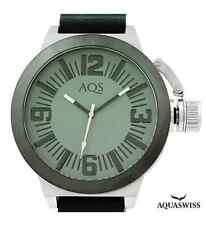 AQS by AQUASWISS Men's 52mm Brand New Stainless Steel Swiss Watch RETAIL- $990