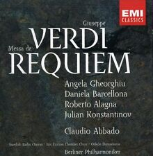Verdi: Requiem - R./Gheorghiu,A. Alagna (2001, CD NIEUW)2 DISC SET