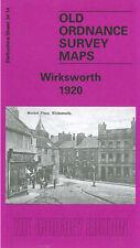 OLD ORDNANCE SURVEY MAP WIRKSWORTH 1920