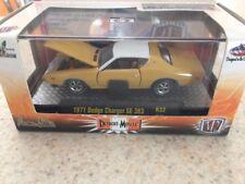 M2 Machines Detroit-Muscle 1971 Dodge Charger Se 383 R32 1/64