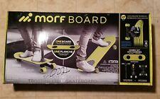 Morf Board Skate & Scoot Combo Set Chartreuse 2-in-1 Kick Scooter Skateboard Nib