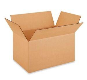 "16 x 11 x 9"" Corrugated Boxes 25/bundle"