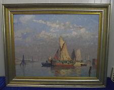 "Paul Ernst Wilke ""Erinnerung an Norderney"", Ölgemälde, signiert"