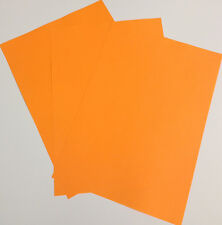 Fluorescent 80gsm Paper A4 / A5 / Yellow / Green / Pink / Orange /  Free Postage