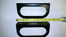 """(2) Trailer Truck Steel 6"""" Oval Tail Light Guard Mounting Brackets FREE SHIPPING"""