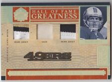 STEVE YOUNG 2006 National Treasures HALL OF FAME Greatness Patch Prime Jersey/25