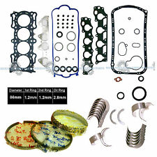 98-02 HONDA ACURA 2.3L F23A1 F23A7 F23A4 VTEC GRAPHITE FULL SET RINGS BEARINGS