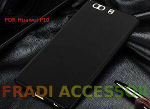 Cover case custodia HUAWEI P10 TPU ultra slim silicone nera morbida 0,3mm