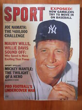SPORT Magazine US - August 1965 - Mickey Mantle in cover  [D24]