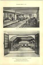 1927 Elementary School Townhill Swansea Woodwork And Metalwork Shops Assembly
