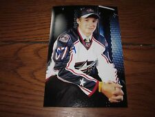 WILL WEBER AUTOGRAPHED BLUE JACKETS 4X6 PHOTO # 4