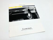 1994 Lincoln Town Car Continental Mark VIII Full Line Brochure