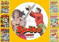 Spike + Hoot Complete UK Comic Runs On DVD Rom