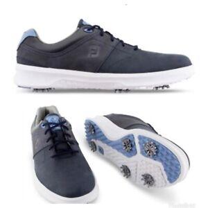 CLOSEOUT - NEW FootJoy Mens Contour Golf Shoes NIB! 54179- Navy - Choose Size