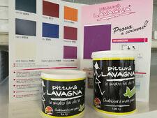 JUMBO PAINT Pittura lavagna scrivibile opaca 0.60 KG Inodore Smalto acqua Nero