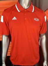 Arkansas State Red Wolves Adidias Men's Medium Climax Polo Shirt