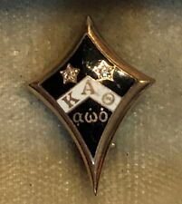 1918 14K Kappa Alpha Theta Sorority Pin - Upsilon Chapter