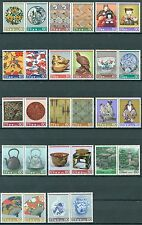 JAPAN 1984-86 TRADITIONAL CRAFT SERIES PAIRS MNH VERY FINE