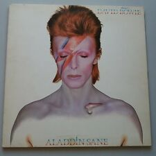 David Bowie - Aladdin Sane Vinyl LP + Inner Canadian Press  RCA Orange Labels